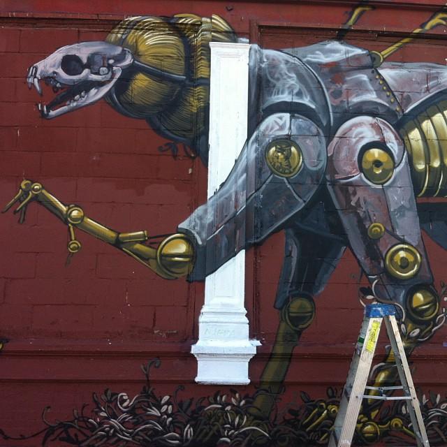 Pixel Pancho #streetart #brooklyn #nyc #pixelpancho