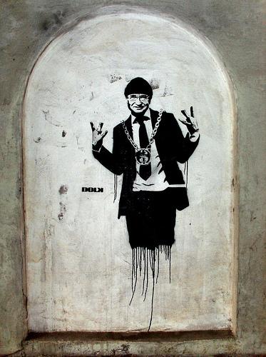 streetartwalk street art graffiti checkback david meade