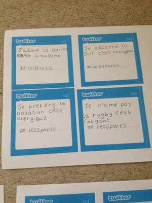 Draft tweets