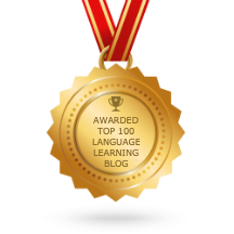 Top 100 Language Learning Blog Award