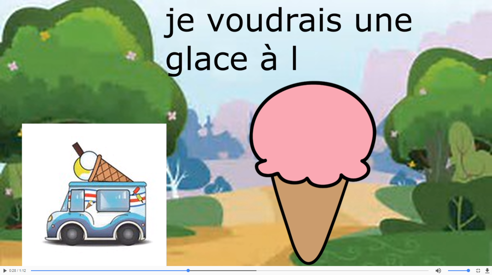 French Teaching Videos - Listen to and practise with a native French speaker