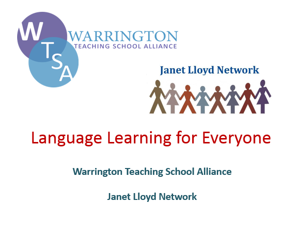 Joint project with Warrington TSA