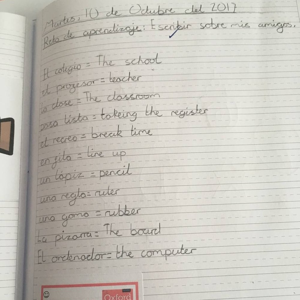 …..to learning how to use of bilingual dictionaries, record and remember new language: