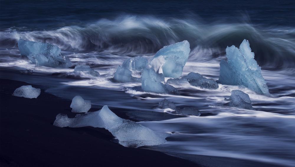 Jökulsárlón Ice Beach, Iceland