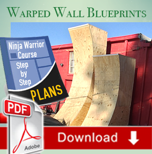 Warped Wall Blueprints NinjaWarriorBlueprintsbackyard