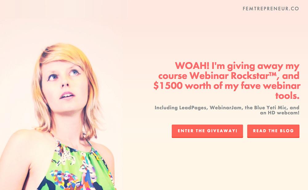 http://www.femtrepreneur.co/giveaway