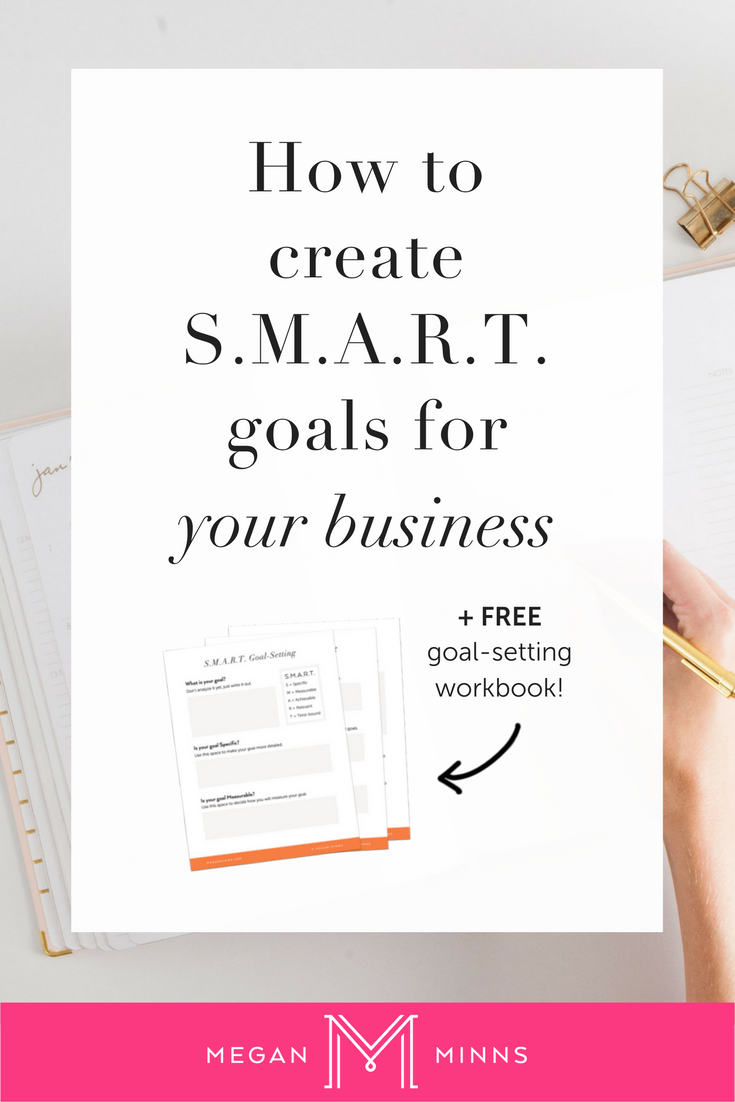 Workbooks goals workbook : How to Create SMART Goals for Your Business — Megan Minns