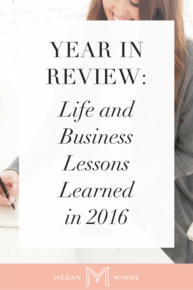 YEAR IN REVIEW 2016: 7 Life and Business Lessons Learned in 2016. In this video, I'm sharing seven lessons I learned in 2016. Hopefully by sharing my lessons, you'll have a better 2017 and not have to learn these lessons yourself. Watch the video here: https://youtu.be/Qkl4OmqsrZw