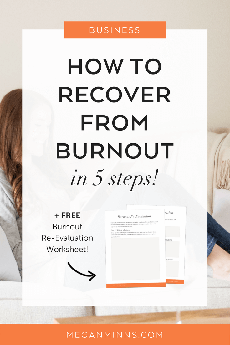 how long does it take to recover from stress burnout