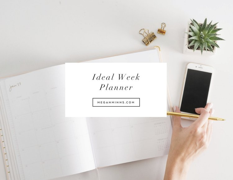 Download The FREE Ideal Week Planner