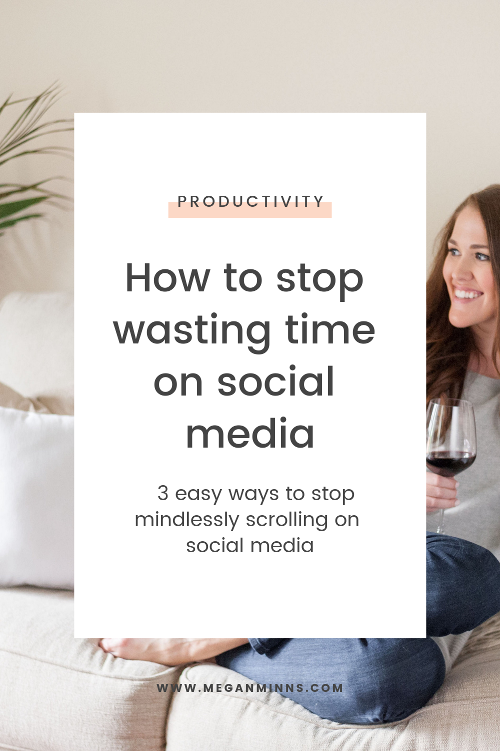 Tired of mindlessly scrolling on social media? In this episode of The Productive Life, we're talking about three easy things I've implemented recently to help me stop wasting time on social media. By implementing these easy action steps, we will not only be more productive, but we will also get more joy and fulfillment out of our social media apps. READ THE FULL BLOG POST ➡️  https://meganminns.com/blog/stop-wasting-time-on-social-media