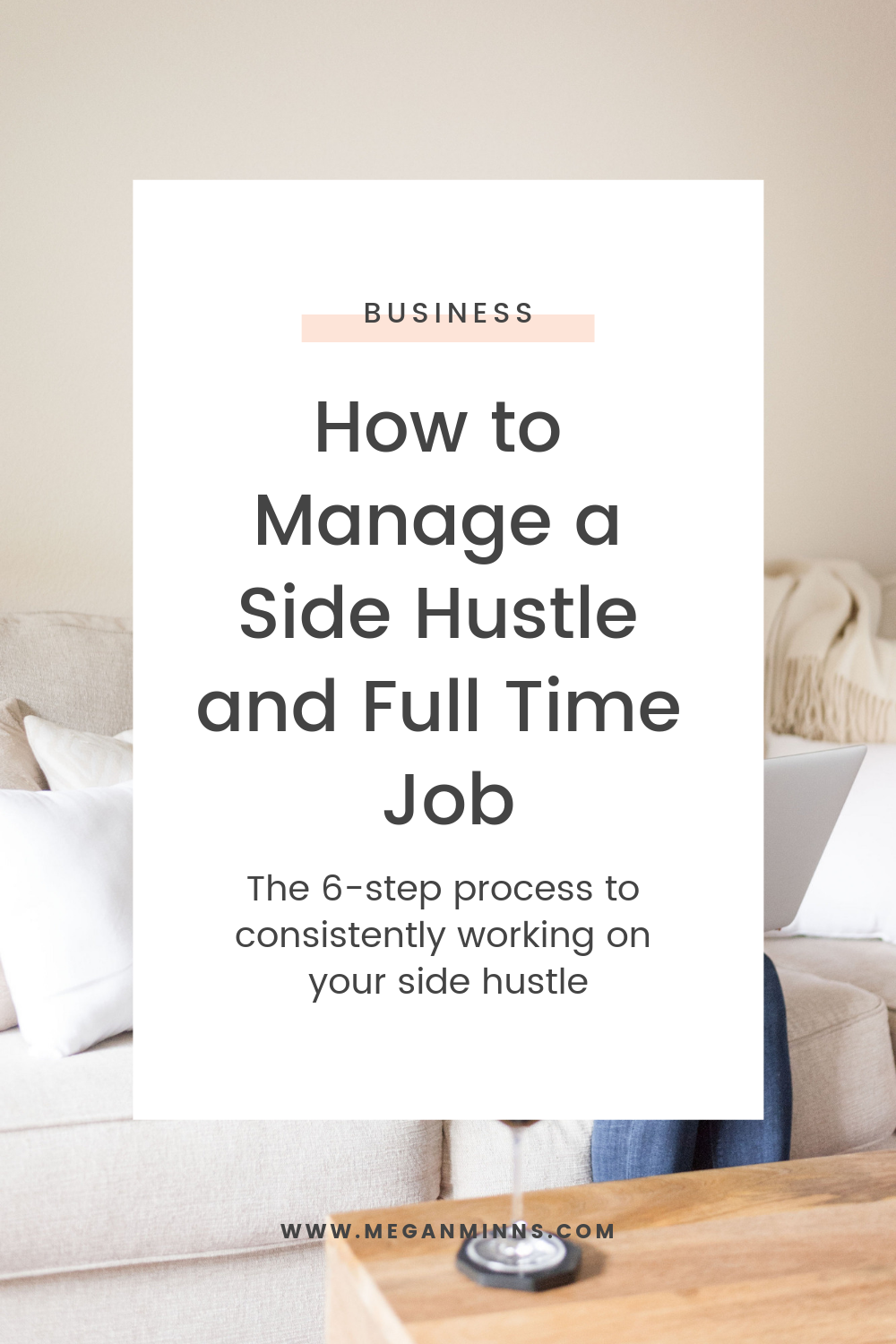 This episode of The Productive Life is not one to miss! You have a side hustle, and you also have a full time job. How do you manage both so they thrive? How can you efficiently manage your time? We're going to cover it all in this episode! LISTEN HERE ▶️ https://meganminns.com/blog/manage-your-side-hustle-and-full-time-job