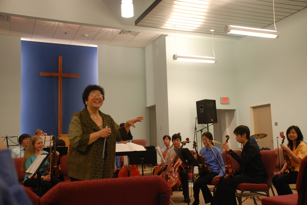 Maestra Chiu-Tze Lin introduces the Bravura Youth Orchestra for the very first time!