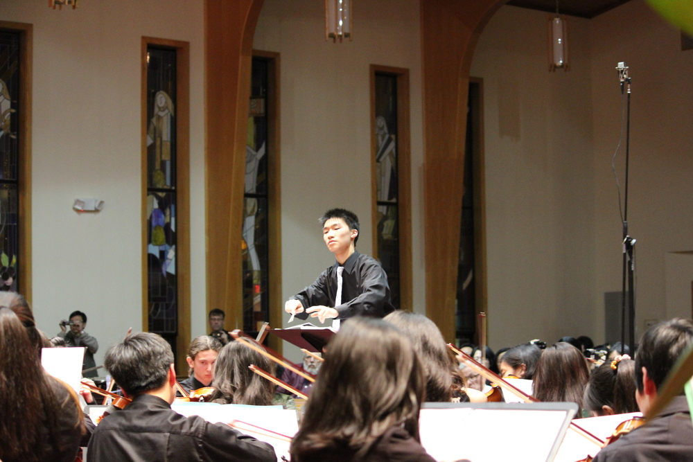 Matthew Liu in action