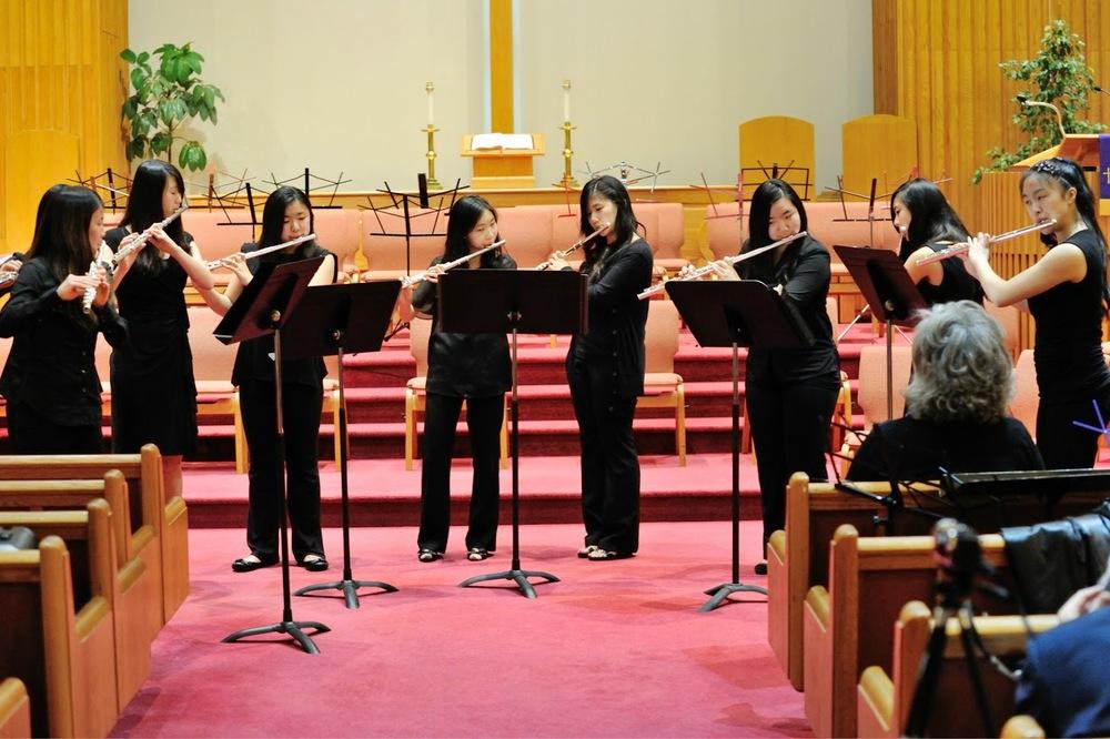 Our flute choir