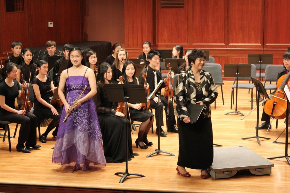 Magnificent flute soloist Katherine Lin