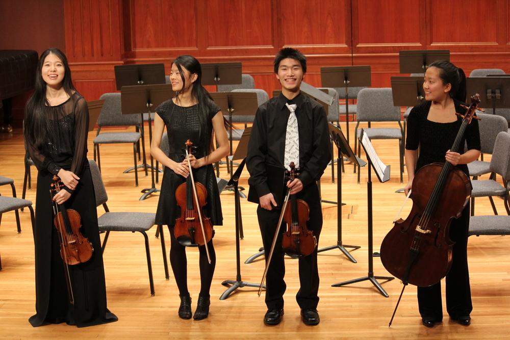 Our premier string quartet