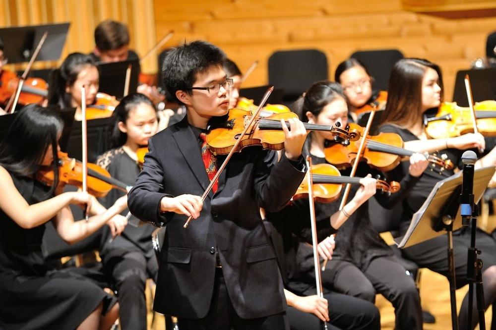 Robert Kim soloing on Ziguenerweisen