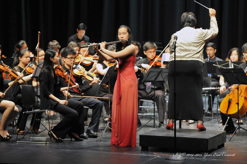 Soloist Kaylee Wang