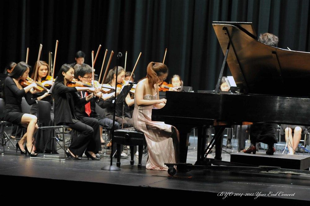 Iris Kwak performs Grieg