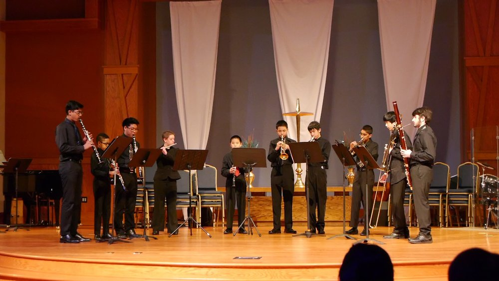 The winds and brass ensemble
