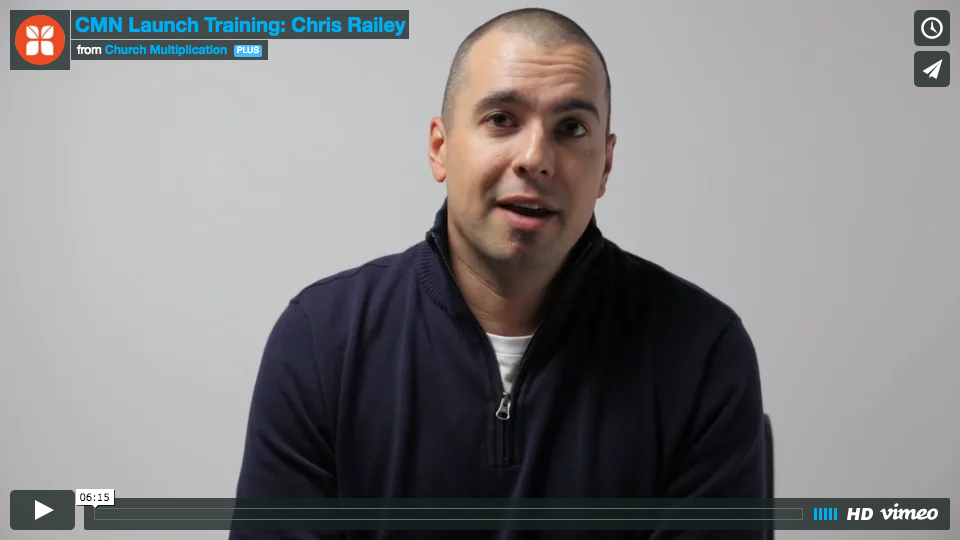 Chris Railey discusses CMN's vision for a healthy church in every community
