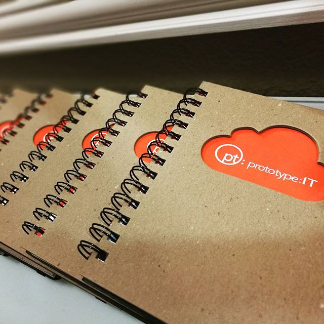 These beauties are hot off the press! #swag #it #technology