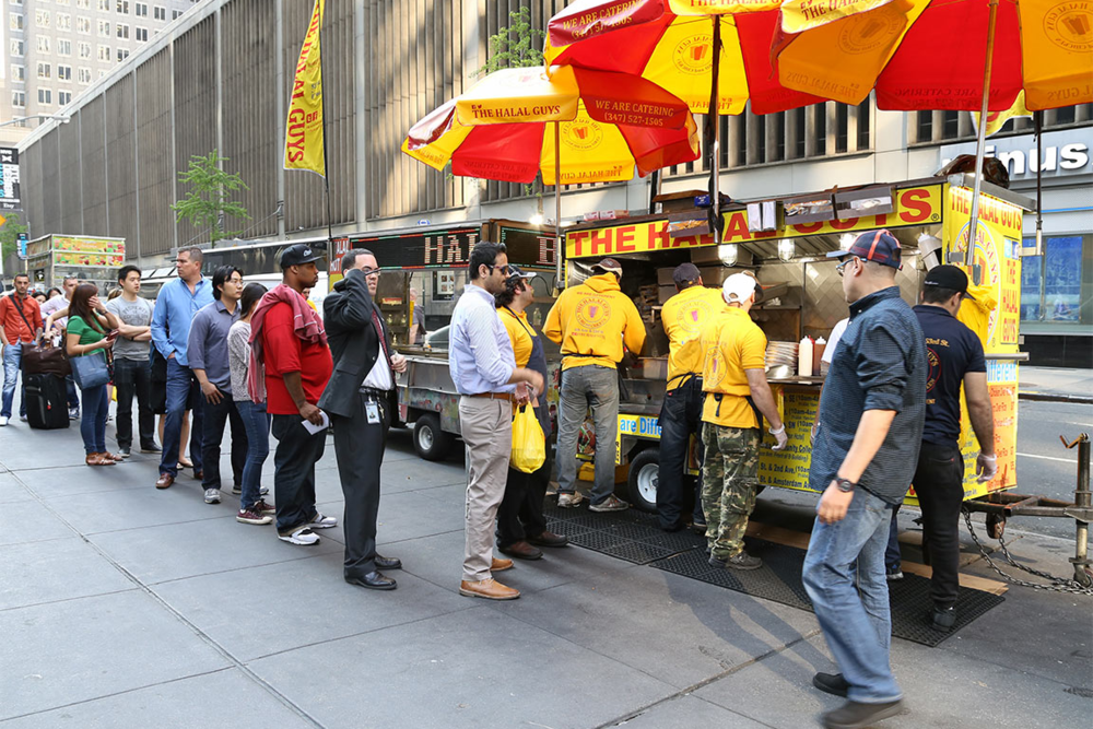 The Halal Guys' Never-Ending Line
