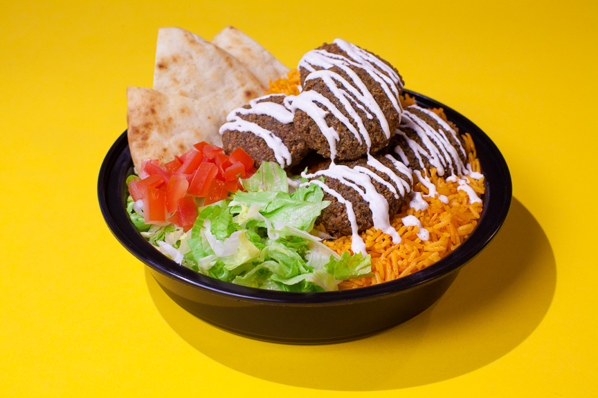 The Halal Guys - Falafel Platter
