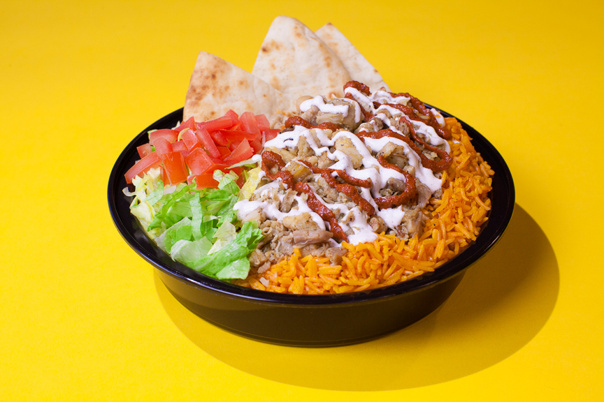 The Halal Guys - Chicken & Rice Platter