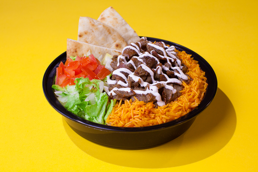 The Halal Guys - Gyro Platter