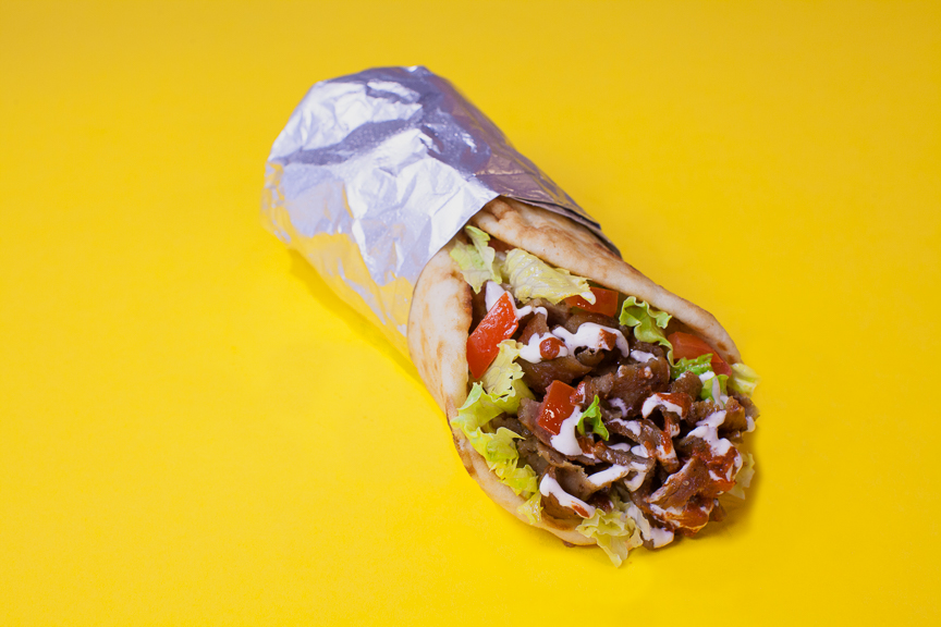 The Halal Guys - Pita Sandwich