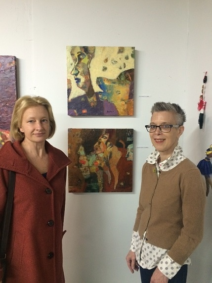 Standing with Artists Anne Johnstone and her mind-boggling paintings