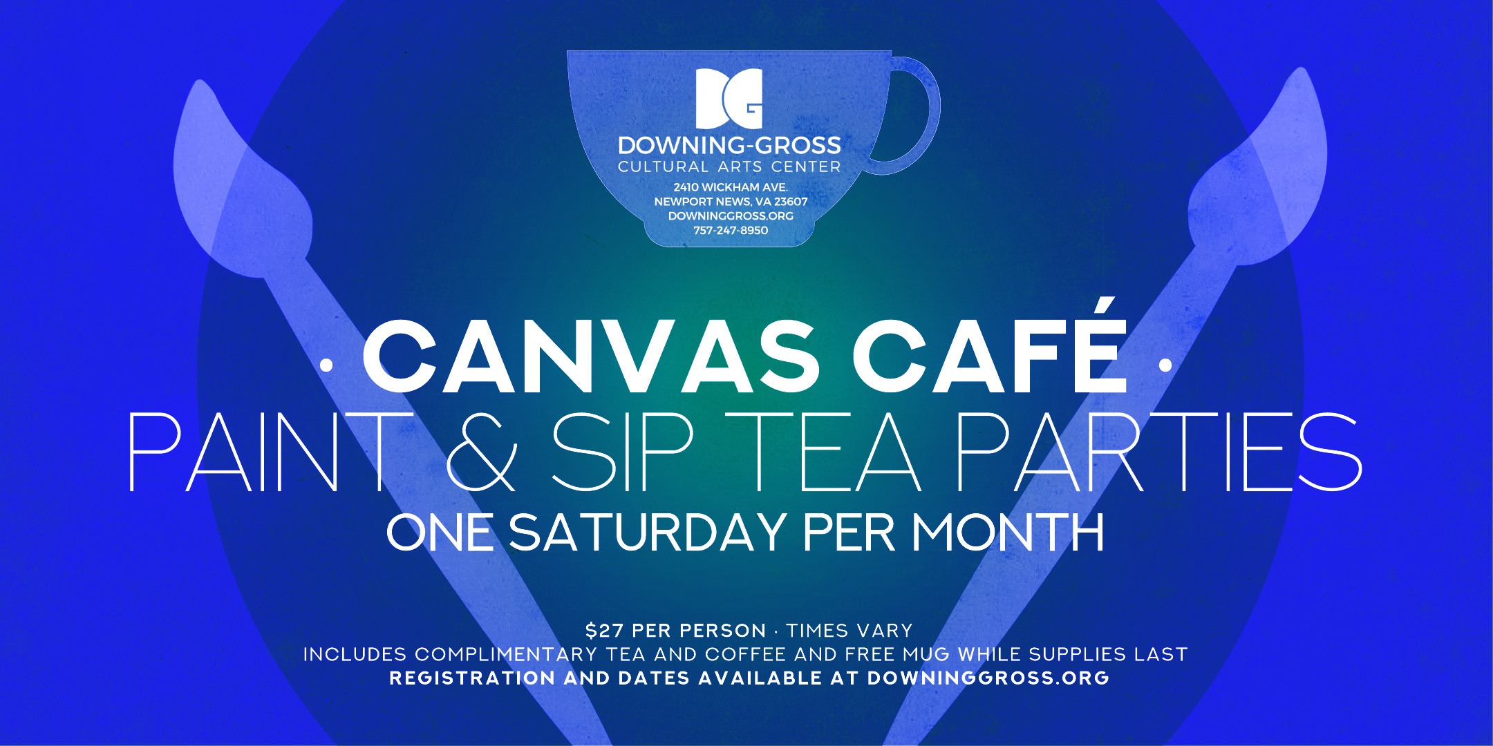 Canvas Café Paint and Sip Saturday - Downing Gross