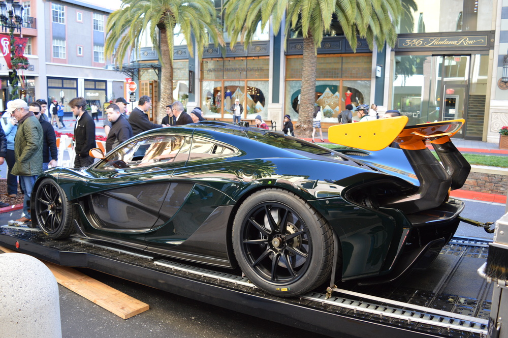 Credits: Dennis Noller - McLaren P1 GTR - Canepa Green with McLaren Orange accents