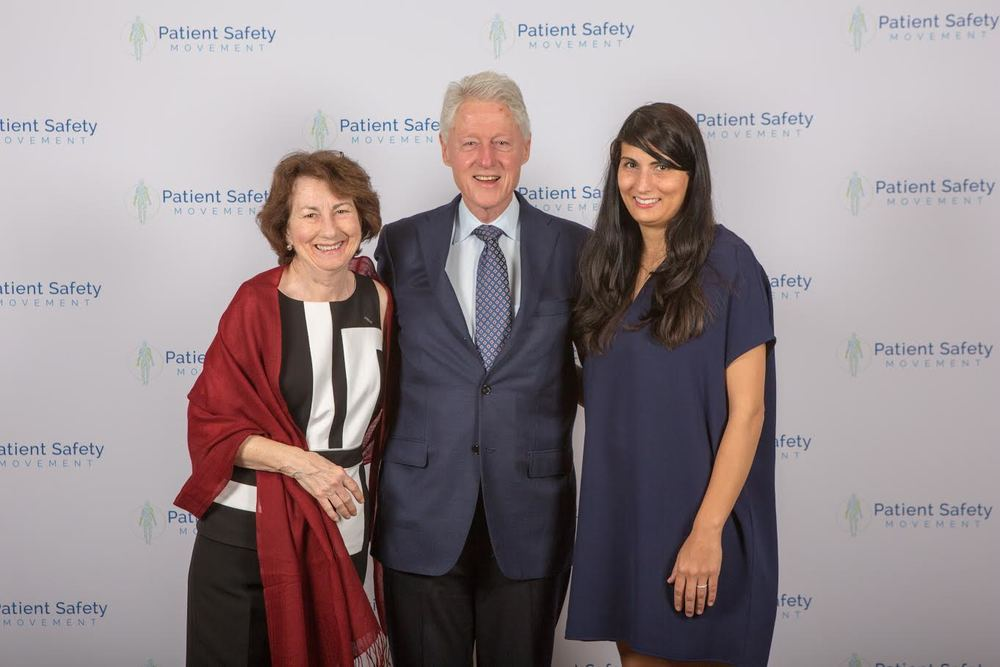 Photo w Pres Clinton.jpg