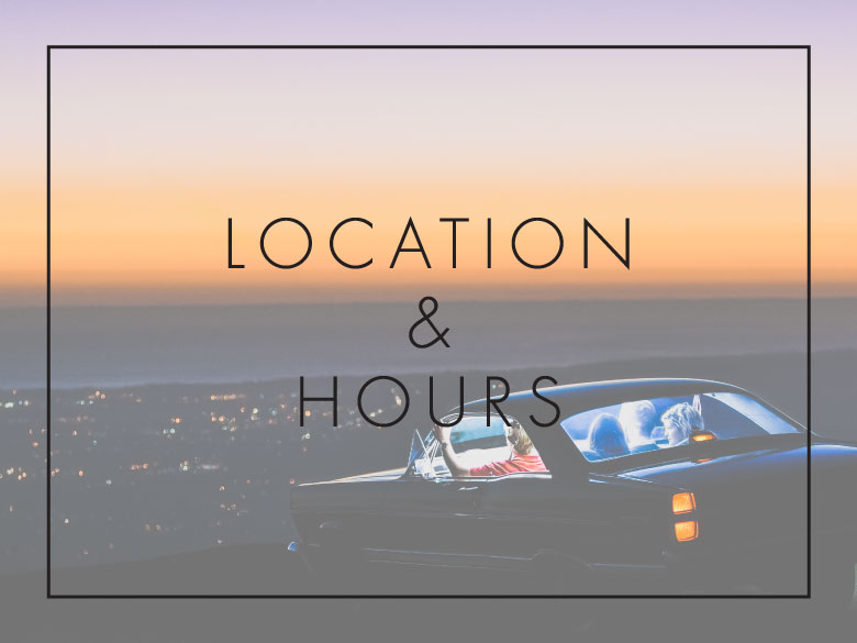 Caliva location and hours