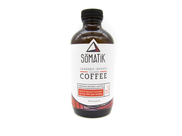 Kick off your day with a little cannabis and caffeine from Somatik.