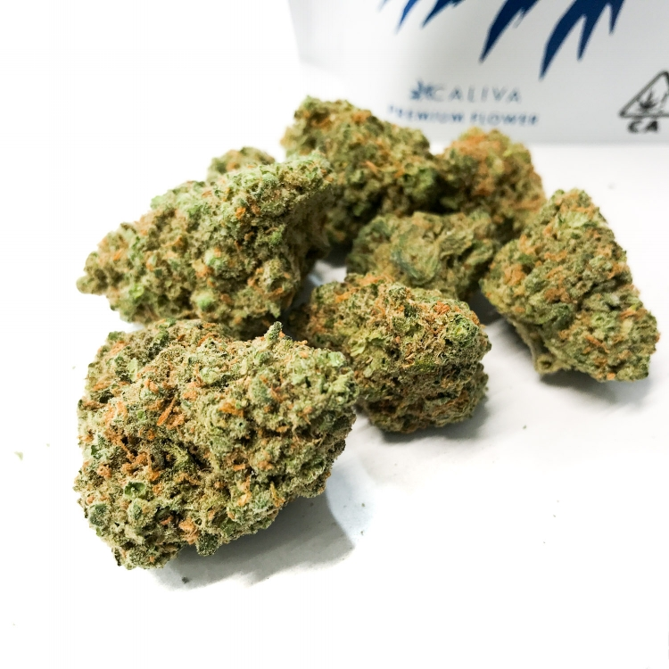 Caliva Collection Dream Queen contains up to 22 percent THC.