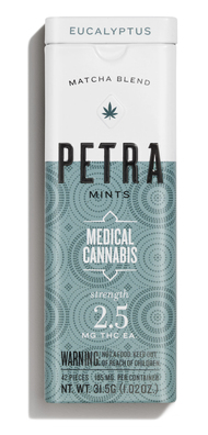 The Petra mint is a great low-dose edible that will ease you into any workout.