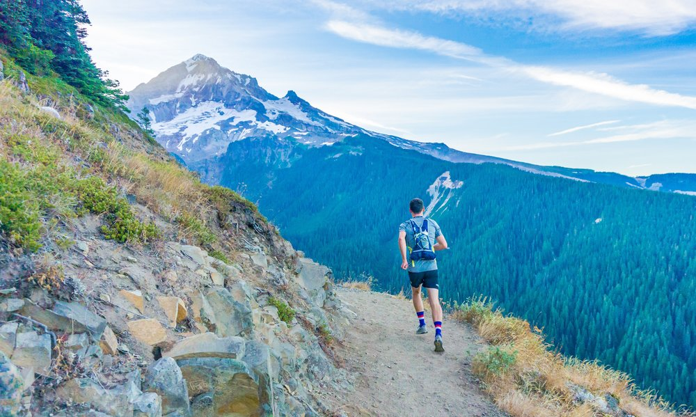 Ultrarunning, trail running, and hiking all pair well with cannabis.