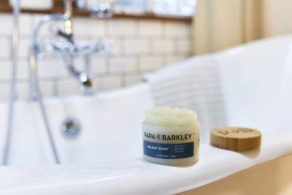 CBD Bath Soaks are a great for combatting insomnia.