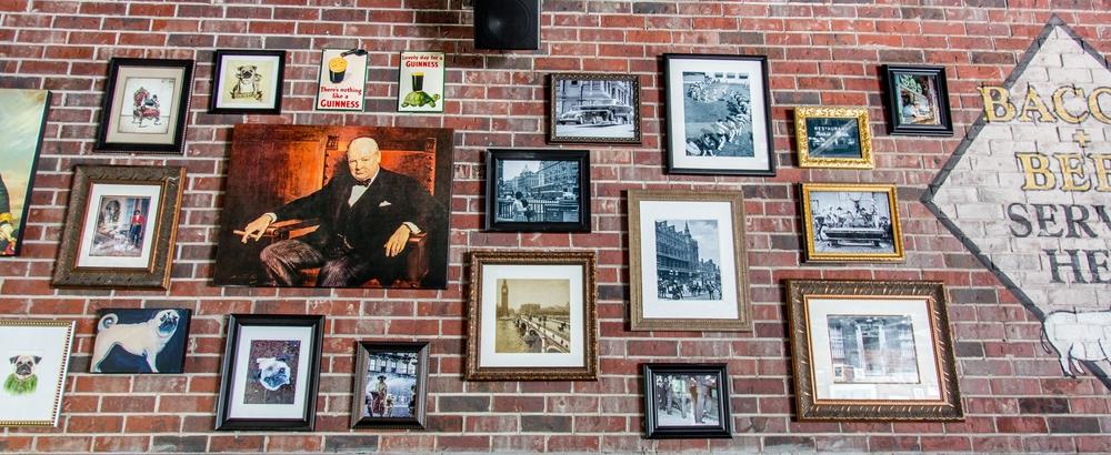london bull art wall