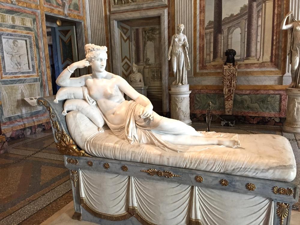 Galleria Borghese  Paolina Borghese  del  Canova