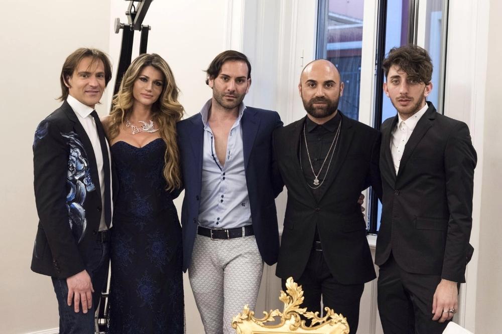 Pierre Prandini, Ribana Szutor, Stefano Zulian, Giuseppe fata e Andrea Perrone