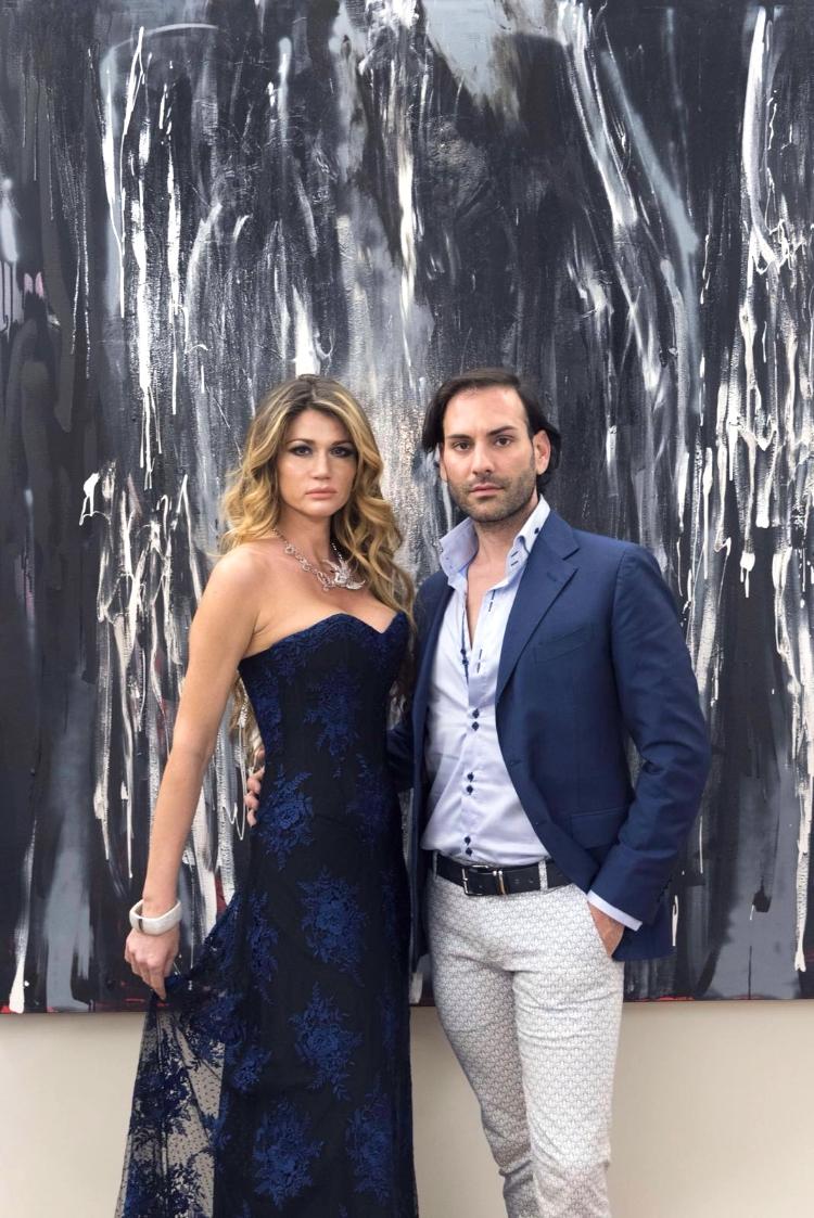 Ribana Szutor con Stefano Zulian
