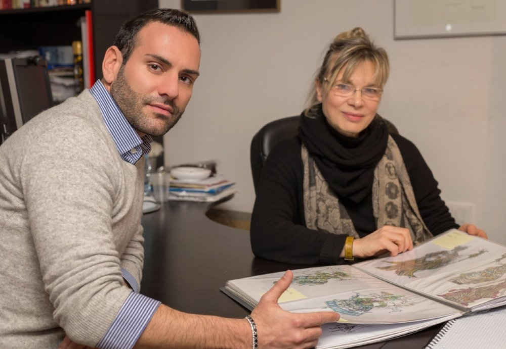 Stefano Zulian e Antonia Sautter