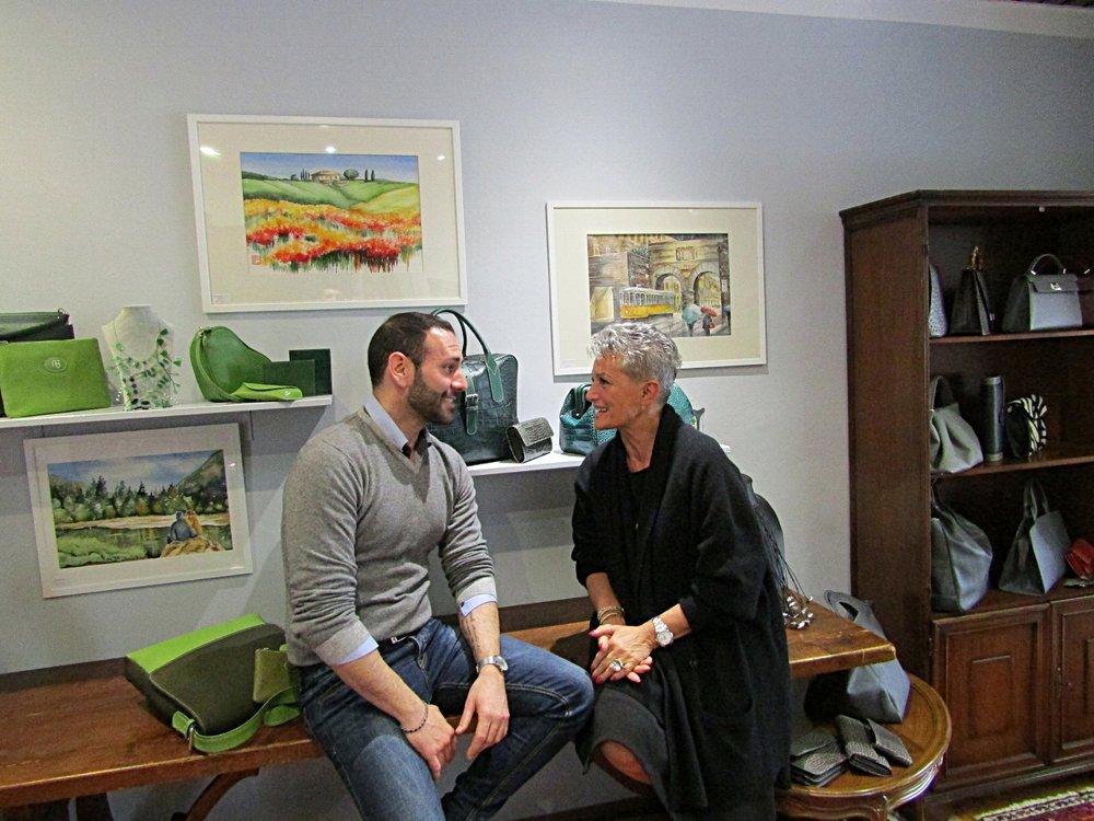 Stefano Zulian con Romana Busani