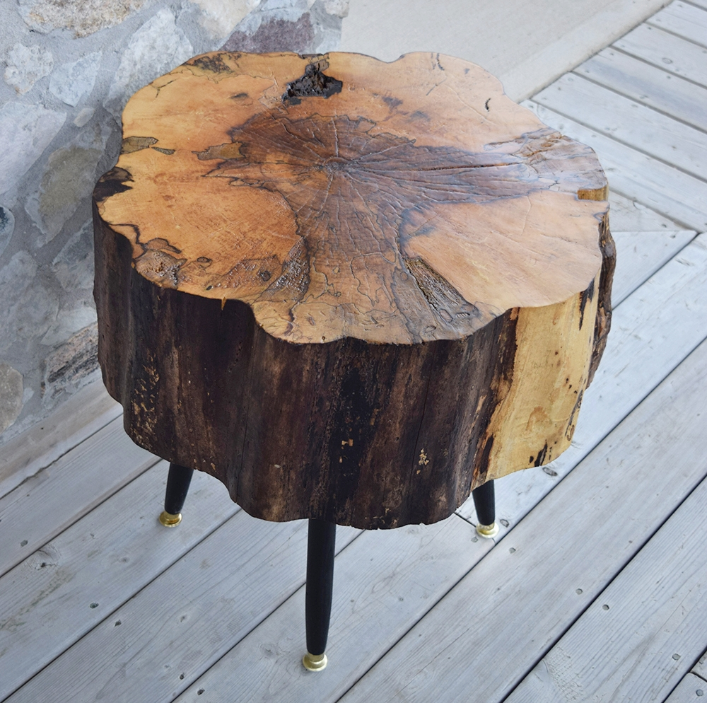 Coffee Table Tree Stump