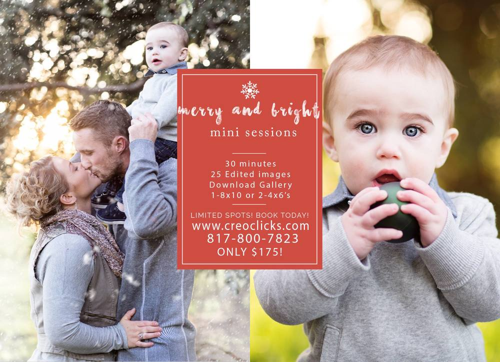 Midland TX Mini Sessions Photos